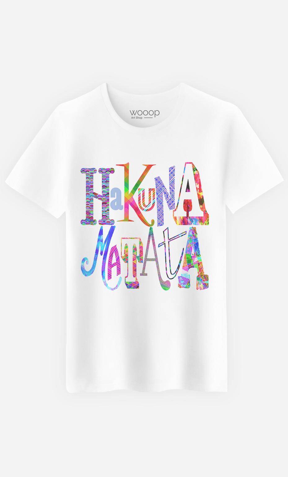 T-Shirt Homme Hakuna Matata Color