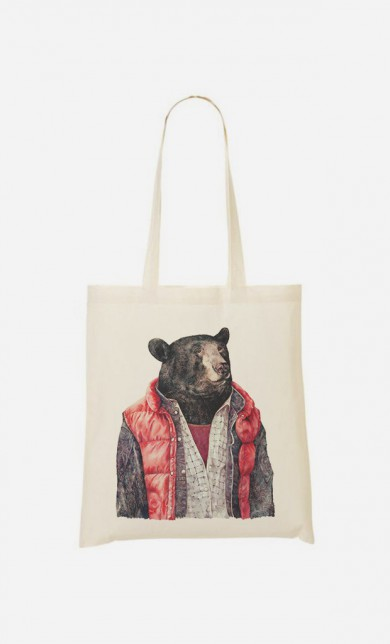 Tote Bag Black Bear
