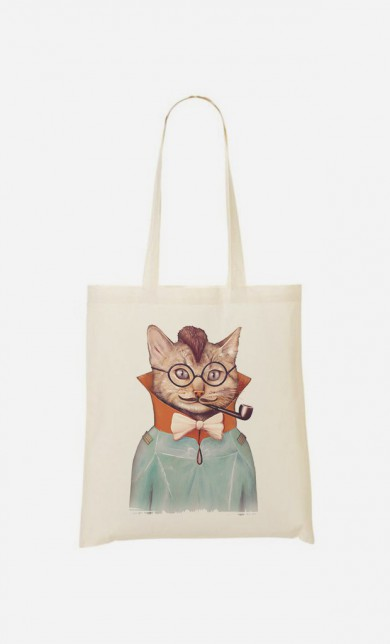Tote Bag Electric Cat