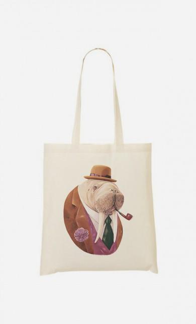 Tote Bag Monsieur Walrus