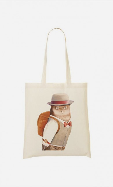 Tote Bag Owl Traveller