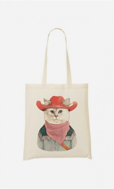 Tote Bag Rodeo Cat