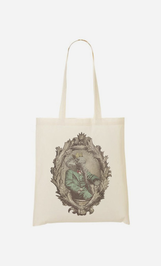 Tote Bag Royal Portrait