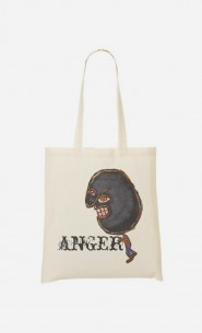 Tote Bag Anger