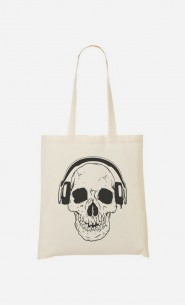 Tote Bag DJ Skull