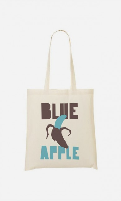 Tote Bag Blue Orange