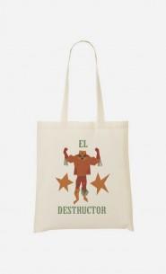Tote Bag Luchador