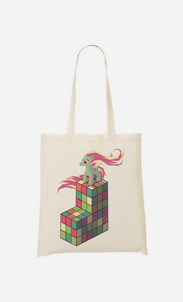 Tote Bag Pony Rubik