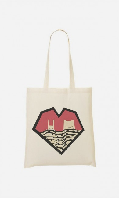 Tote Bag Sleeping Couple