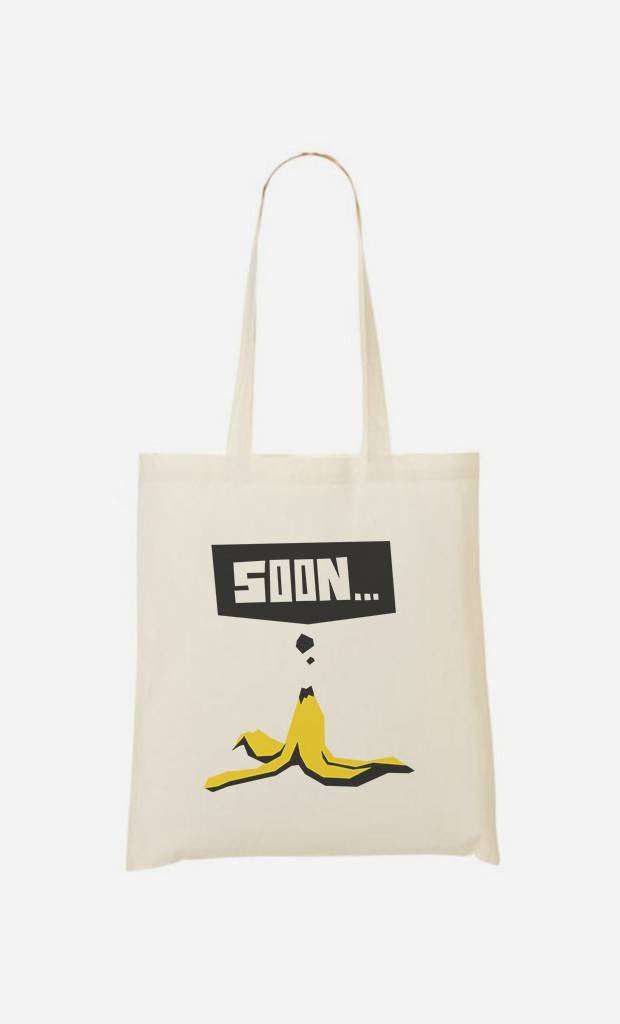 Tote Bag Soon Banana