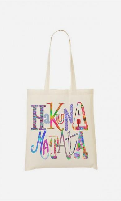 Tote Bag Hakuna Matata Color