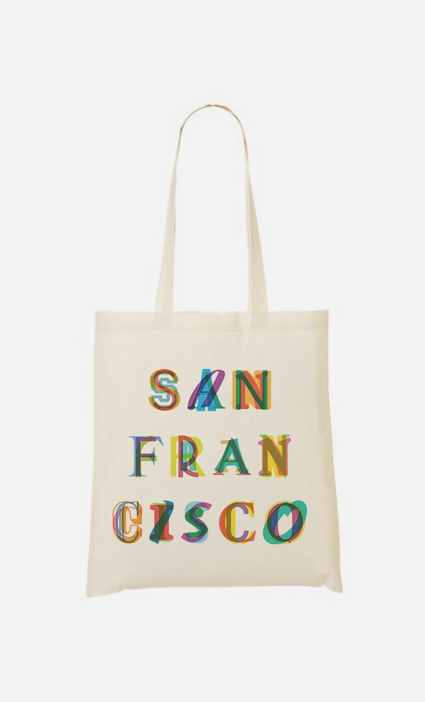 Tote Bag San Francisco
