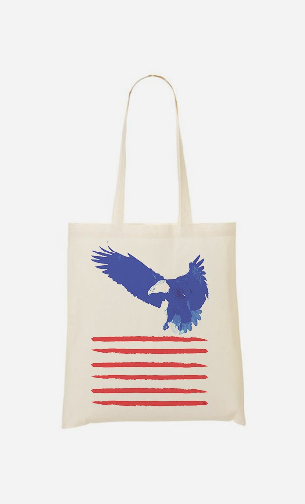 Tote Bag Flying The Flag