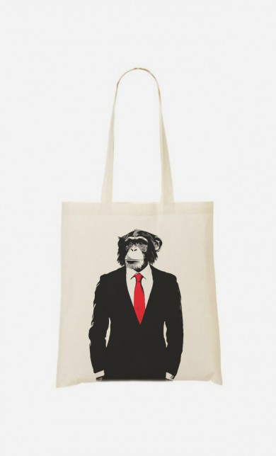 Tote Bag Business Monkey