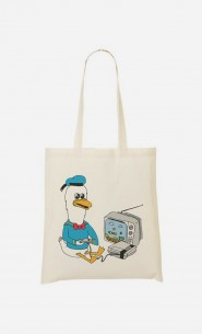 Tote Bag Retro Donald