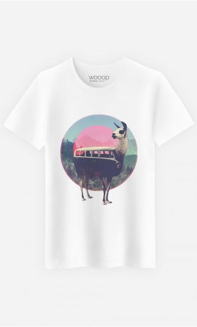 T-Shirt Homme Combi Llama