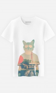 T-Shirt Homme Cool Cat