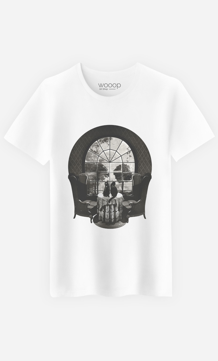 T-Shirt Homme Manor Skull