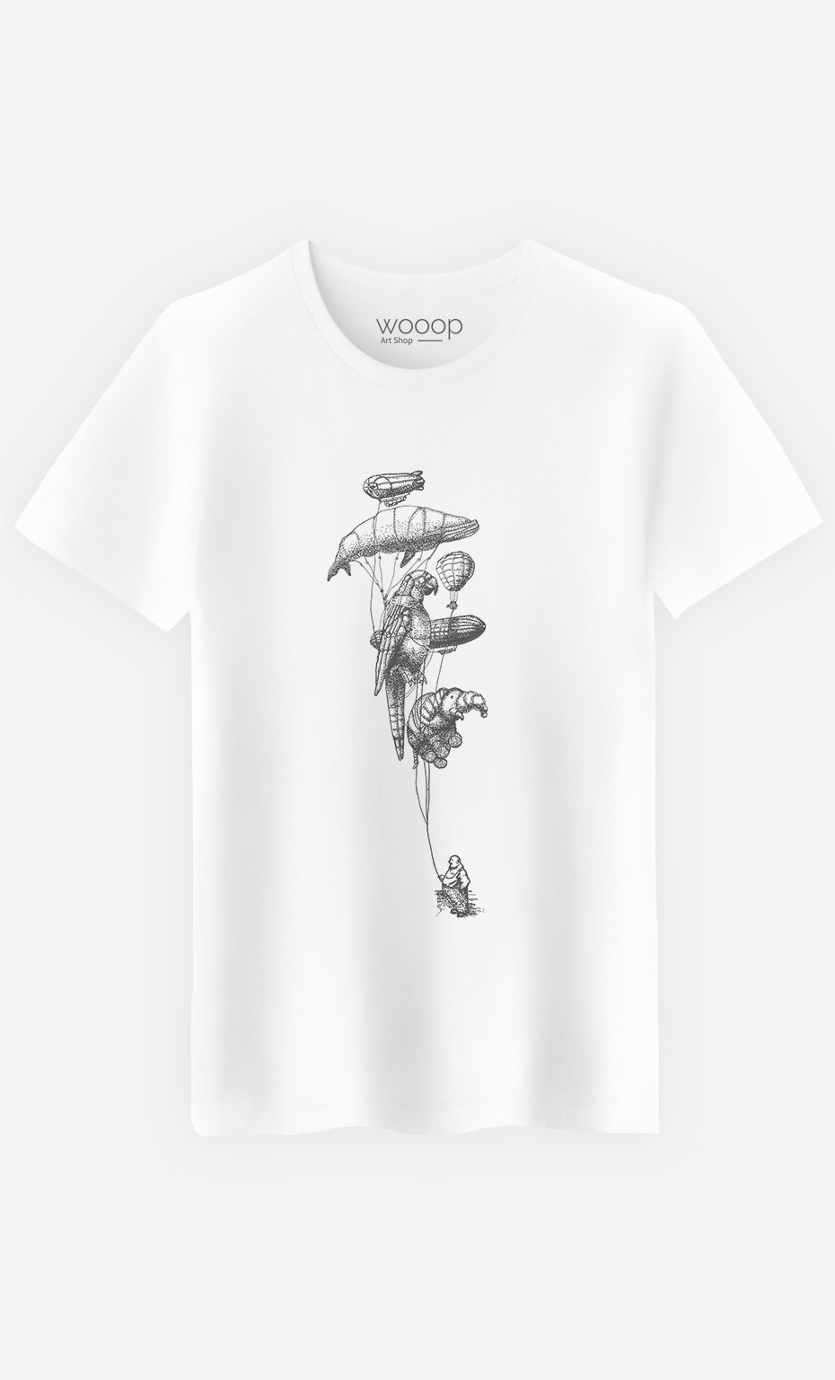 T-Shirt Homme Helium Menagerie