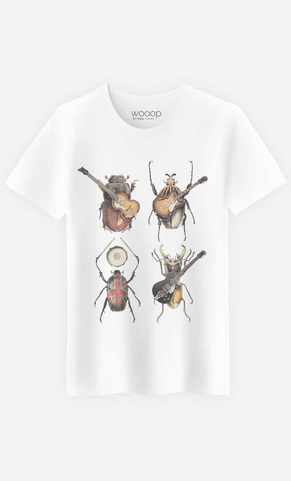 T-Shirt Homme Beetles