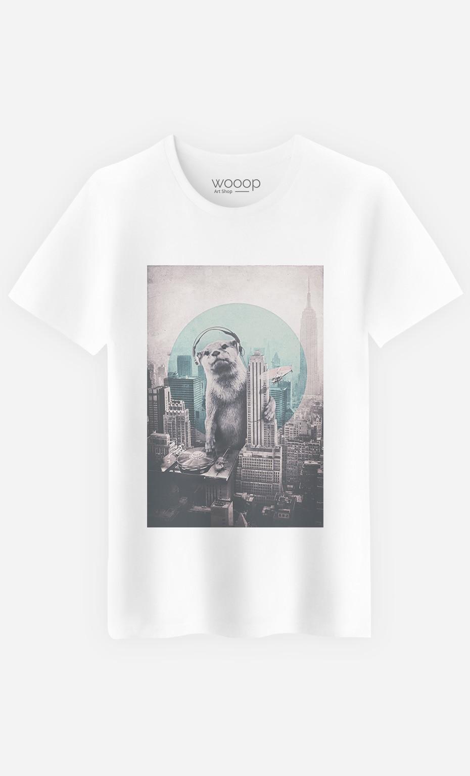 T-Shirt DJ Otter