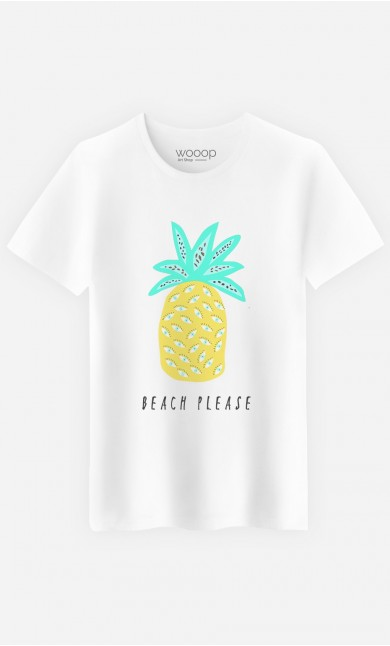 T-Shirt Homme Beach Please
