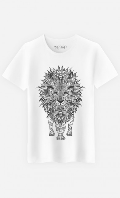 T-Shirt Lion Black