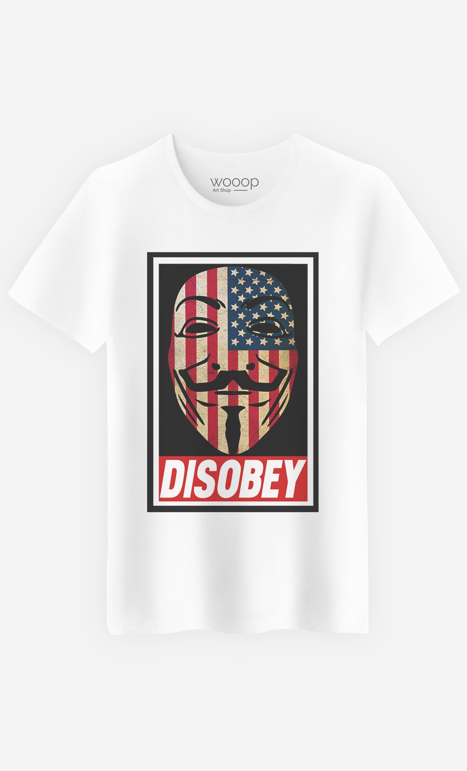 T-Shirt Homme Disobey
