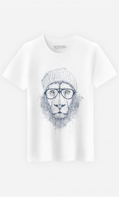 T-Shirt Homme Original Cool Lion