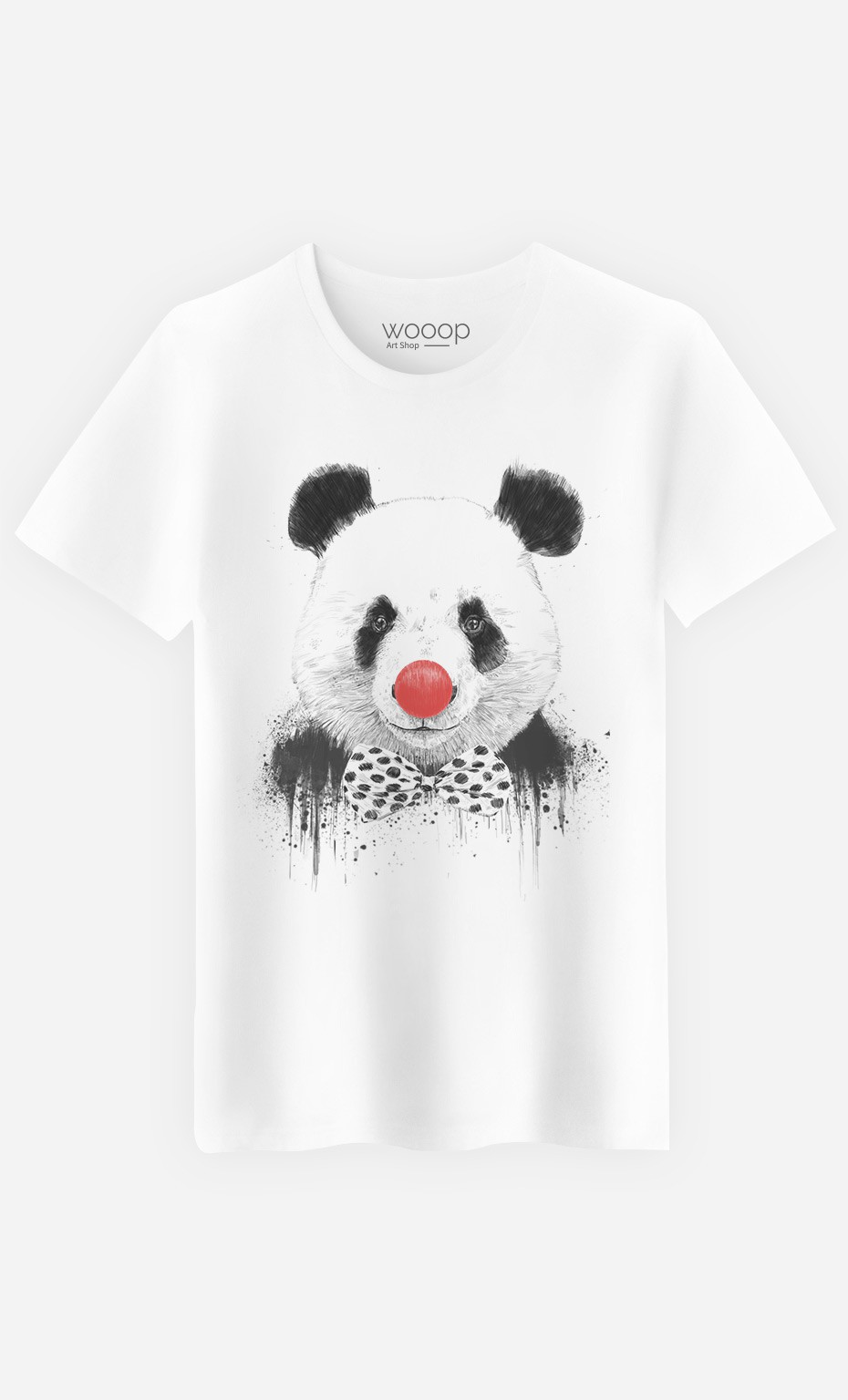 T-Shirt Homme Clown Panda
