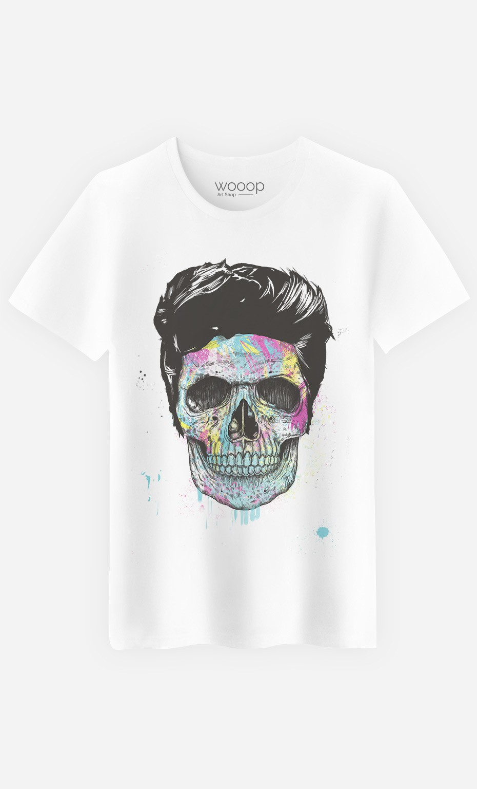 T-Shirt Homme Color Your Death