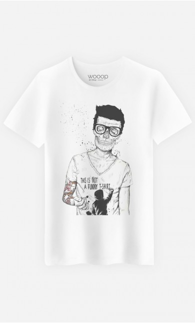 T-Shirt Homme Hipster Is Not Dead