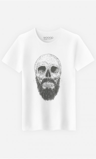 T-Shirt Homme Hipster Barbe