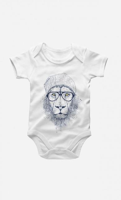 Cool Lion Baby Grow