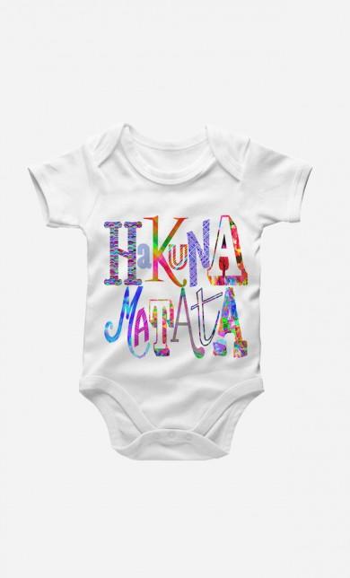 Hakuna Matata Color Baby Grow