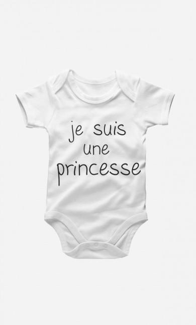 Je Suis Une Princesse Baby Grow