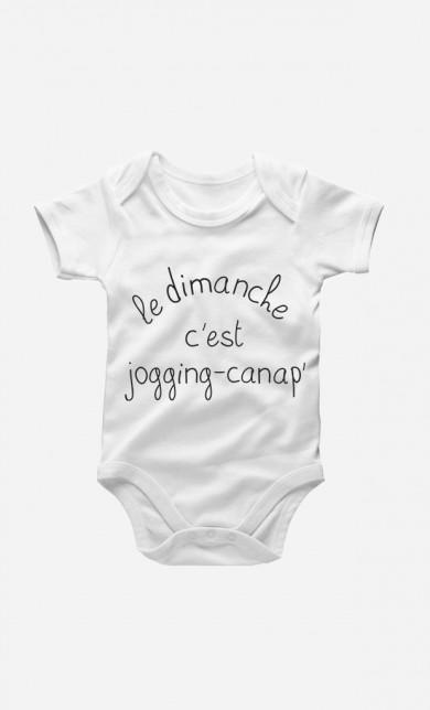 Jogging Canap Baby Grow