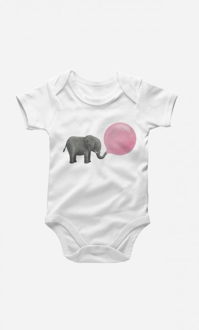 Jumbo Bubble Gum Baby Grow