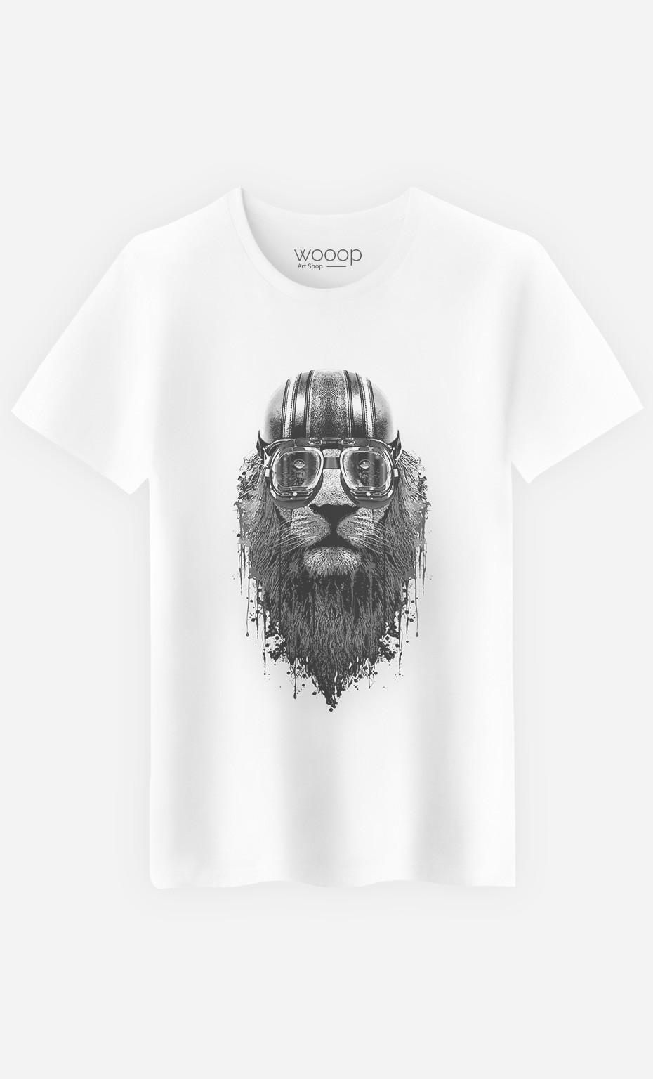 T-Shirt Homme Lion Rider 2