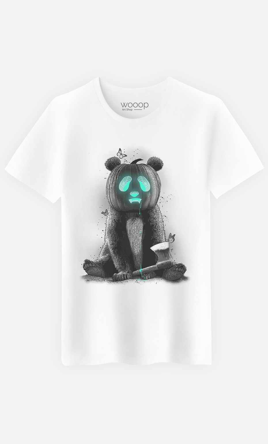 T-Shirt Homme Pandaloween