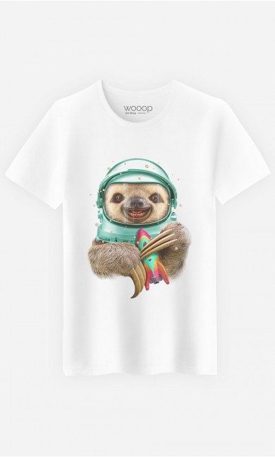 T-Shirt Homme Space Sloth