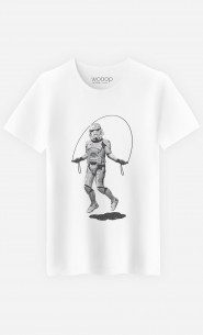 T-Shirt Homme Stormtrooper Skipping
