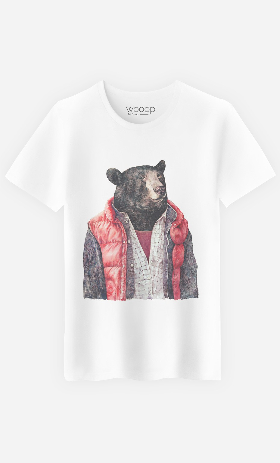 T-Shirt Homme Black Bear