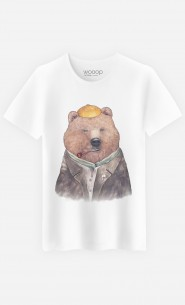 T-Shirt Homme Brown Bear