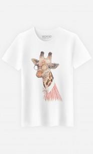 T-Shirt Homme Madame Giraffe
