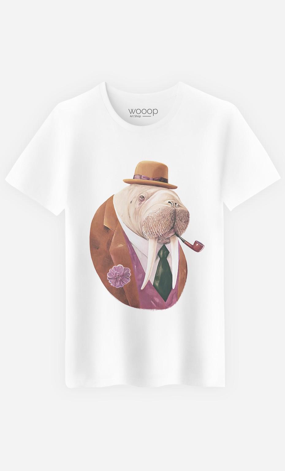 T-Shirt Homme Monsieur Walrus
