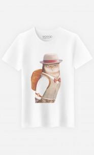 T-Shirt Homme Owl Traveller