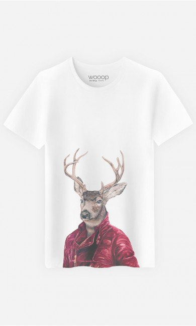 T-Shirt Homme Red Clad Deer