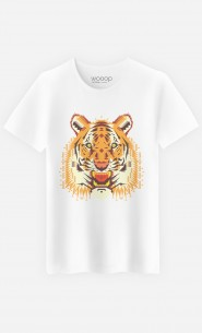 T-Shirt Homme Geo Tiger