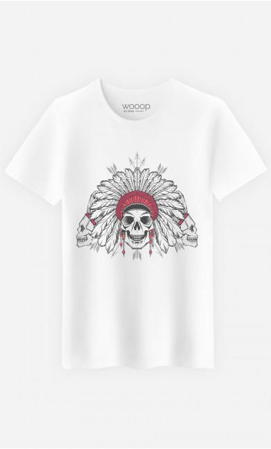 T-Shirt Homme Native Skull
